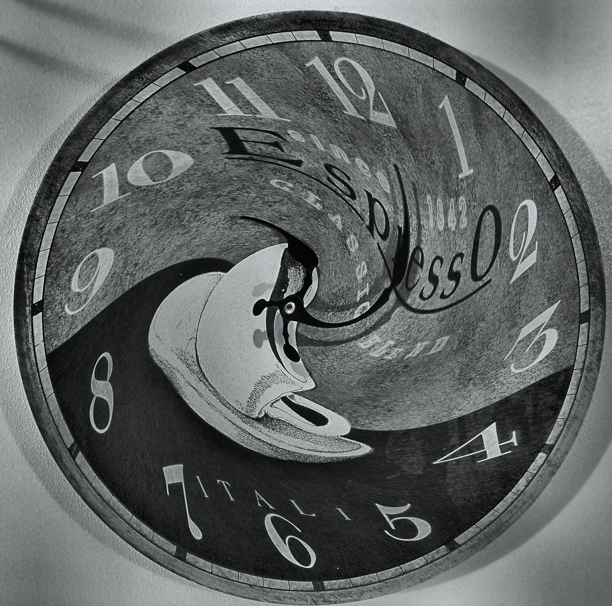 Abstract Eyes Futuristic Steampunk Clocks Gears Lens