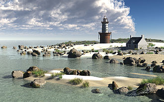 E-on Vue - Image: Timothy Klanderud Beach Lighthouse