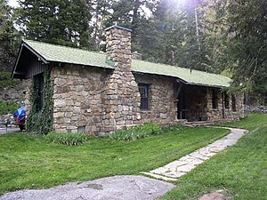 Timpanogos Cave Historic District - Superintendent's residence
