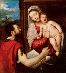Virgin Mary with Child and St. Paul