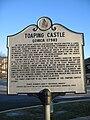 Toaping Castle Historical Marker 01.jpg