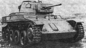 Hungary in World War II - Hungarian Toldi I tank used during the 1941 invasion of the Soviet Union.
