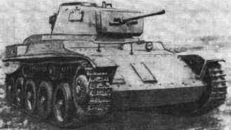 Second Army (Hungary) - Hungarian Toldi I tank during the 1941 invasion of Russia by the Hungarian Second Army