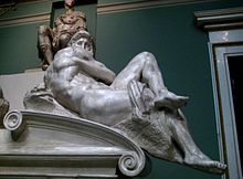 Tomb of Giuliano de' Medici (casting in Pushkin museum) by shakko 04.jpg