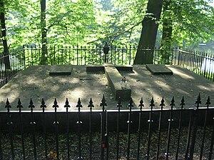 Hans Heinrich XV von Hochberg - Hochberg family tomb in Pszczyna