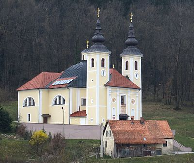 Our Lady of the Rosary Church Tomiselj Slovenia - church.JPG