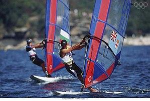 Tony Philp - Tony Philp windsurfing