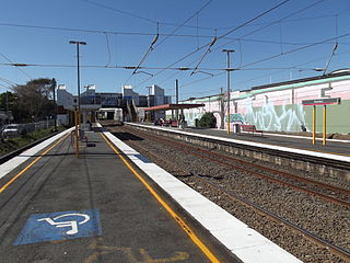 Toombul railway station railway station in Brisbane, Queensland, Australia