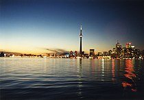 Toronto Skyline at dusk.jpg