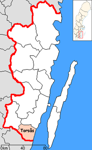 Torsås Municipality - Image: Torsås Municipality in Kalmar County