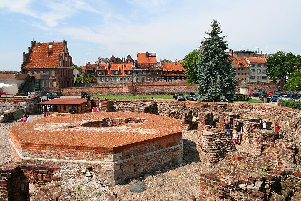 Toruń - Zamek Krzyżacki 01
