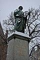 Toruń Nicolaus Copernicus Monument in the snow.jpg