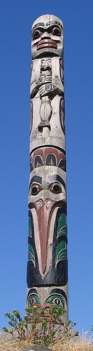 From Totem Park, Victoria, BC. Precise locatio...