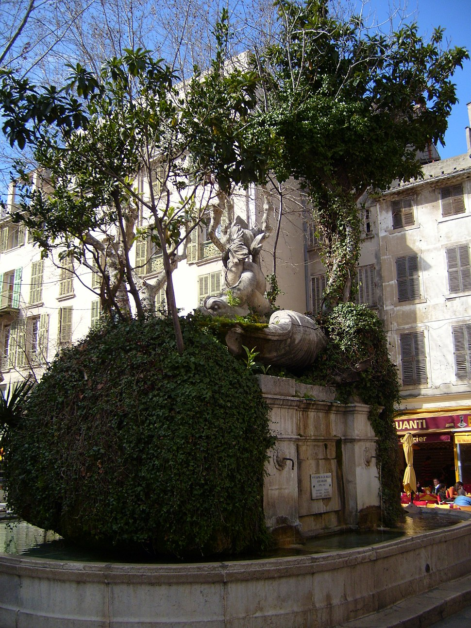 Toulon Place Puget Fountain