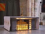 Châsse contenant les restes de Thomas d Aquin dans l église des Jacobins, à Toulouse