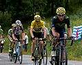 Tour de France 2015, groep gele trui (19441626183).jpg
