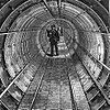 The Tower Subway in 1870