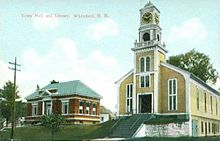 Town Hall and Library, Whitefield, NH.jpg