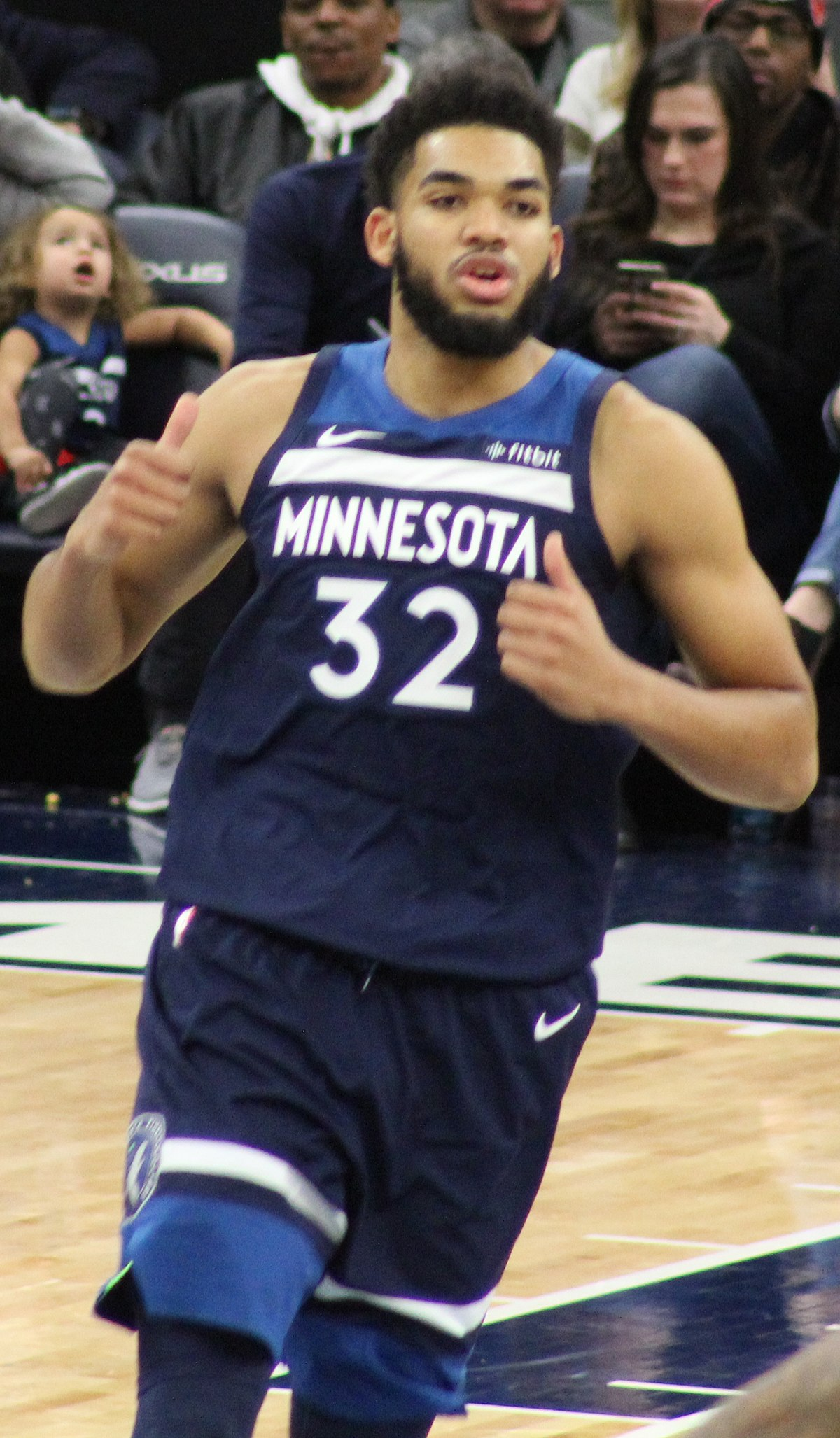 karl anthony towns - photo #1