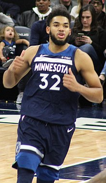 Towns9-20190120.jpg. Towns in January 2019. No. 32 – Minnesota Timberwolves e21947ba2