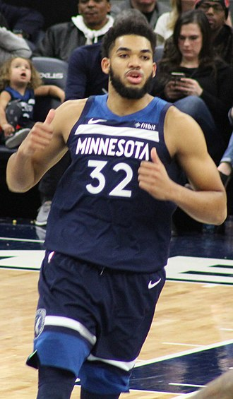 Karl-Anthony Towns - Towns in January 2019