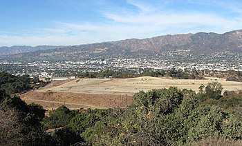 English: Toyon landfill inside Griffith Park, ...