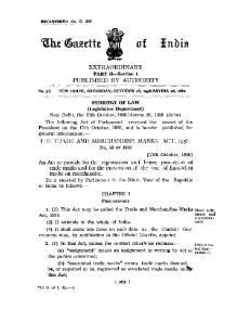 Trade and Merchandise Marks Act, 1958.djvu