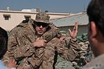 Training trainers, Afghan police lifesavers practice medical skills to teach to comrades 131022-Z-SW098-082.jpg