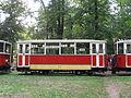 Tram 2222+1111+1219 in Stromovka 2015 02.JPG