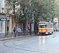 Tramway in Sofia in Alabin Street 2012 PD 031.jpg