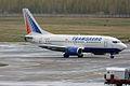 Transaero, VP-BYP, Boeing 737-524 (17277284499).jpg