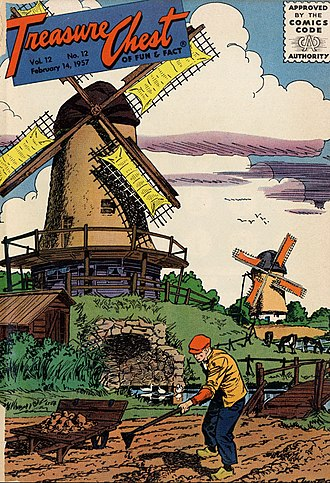 Treasure Chest (comics) - Image: Treasure Chestvol 12no 12