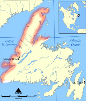French Shore - Image: Treaty Shore of Newfoundland