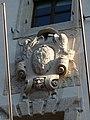 Trento-Palazzo Roccabruna-Madruzzo coat of arms above balcony 2.jpg