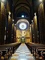 Trento Cattedrale San Vigilio Vescovo Innen Langhaus West 1.jpg