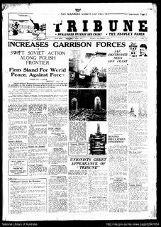 <i>Tribune</i> (Australian newspaper)
