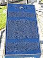Trilingual plaque on the Grand River, Cambridge, Ontario.jpg