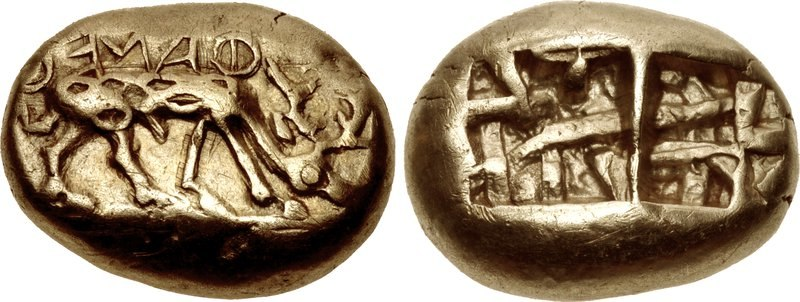 Triti, Phanes, 625-600 BC, Ionia - 301224