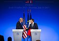Trump and Macron II July 2017