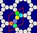 Truncated hexagonal tiling circle packing.png