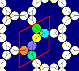 Truncated hexagonal tiling circle packing.png