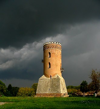 Medieval fortification - Chindia Tower, Târgovişte, Romania