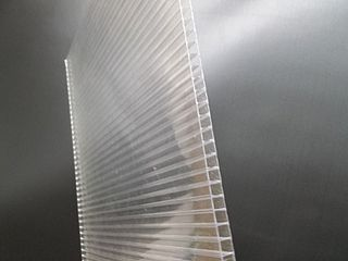 Twinwall plastic