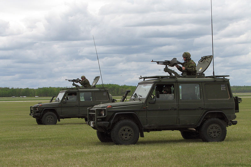 File:Two Canadian Forces G-Wagons.jpg