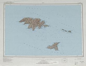 Near Islands - Image: Txu pclmaps topo us attu 1970