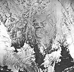 Tyeen Glacier, tidewater glacier and glacial remnents, September 17, 1966 (GLACIERS 5926).jpg