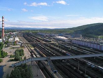 Baikal–Amur Mainline - Image: Tynda rail