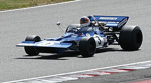 Tyrrell 001 - Tyrrell 001 at the 2008 Silverstone Classic