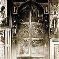 Tzar gate in saint Demetrius church in Staraya Ladoga.jpg
