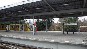 Biesdorf-Süd (Berlin U-Bahn) - Platform view